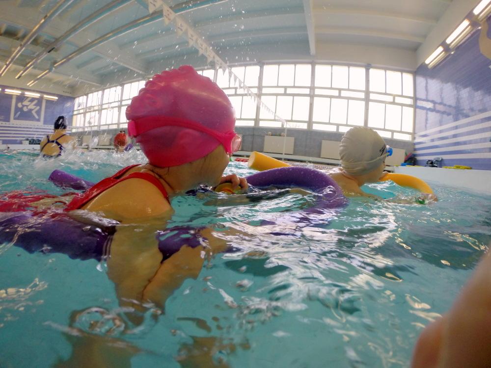 Nauka pływania – dzieci